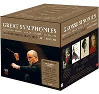 Great Symphonies - The Zurich Years 1995-2014<完全限定生産盤>David Zinman