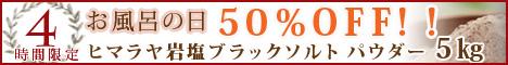 ヒマラヤ岩塩50OFF