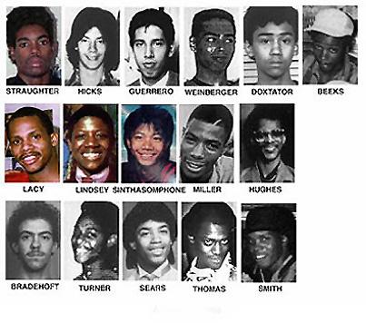 ダーマーの犠牲者たち
