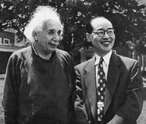 アインシュタイン&湯川秀樹