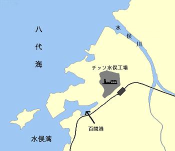 水俣の位置関係