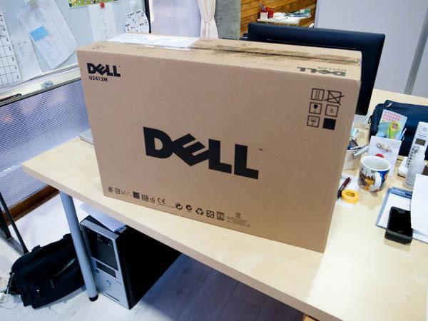 大きいことはいいことだ  DELL U2412M