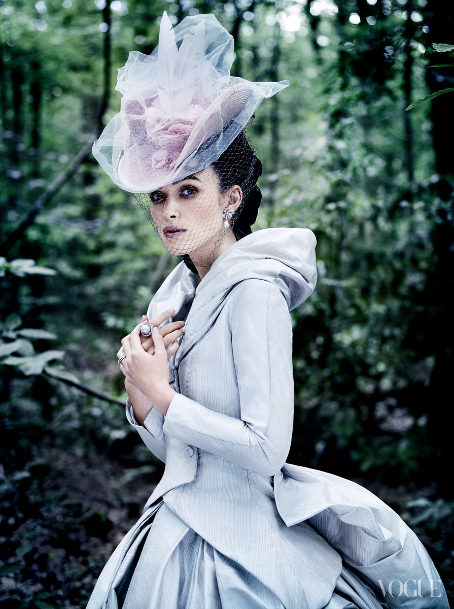 Keira Knightley by Mario Testino