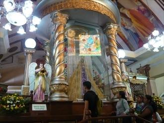 南国お気楽ひとり暮らし-セブ シマラ教会 マリア像