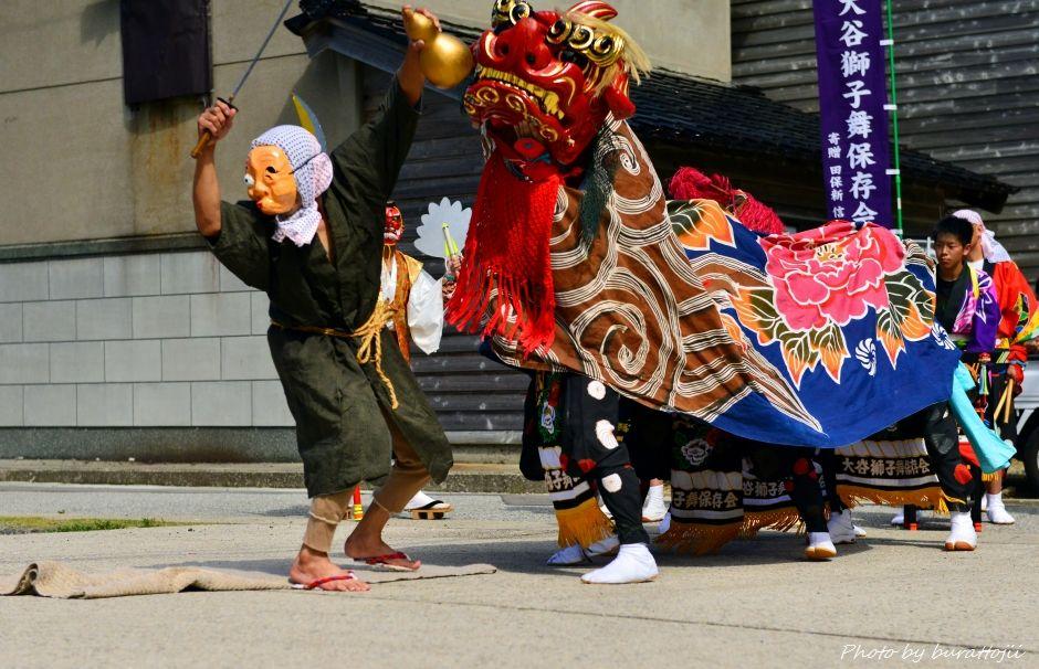 2014.09.14珠洲市大谷獅子舞8