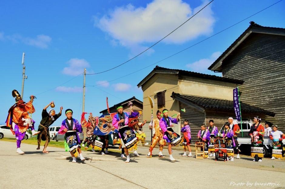 2014.09.14珠洲市大谷獅子舞10