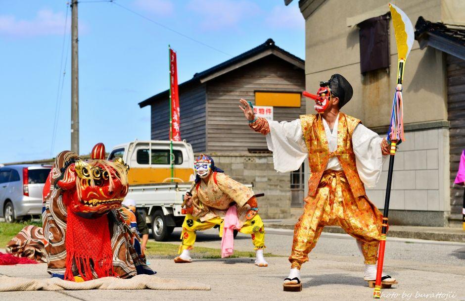 2014.09.14珠洲市大谷獅子舞9