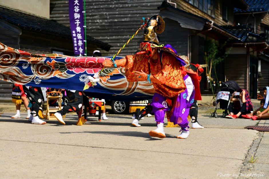 2014.09.14珠洲市大谷獅子舞7