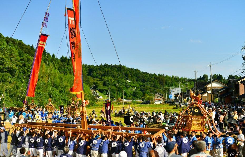 2014.09.20お熊甲祭お旅所9