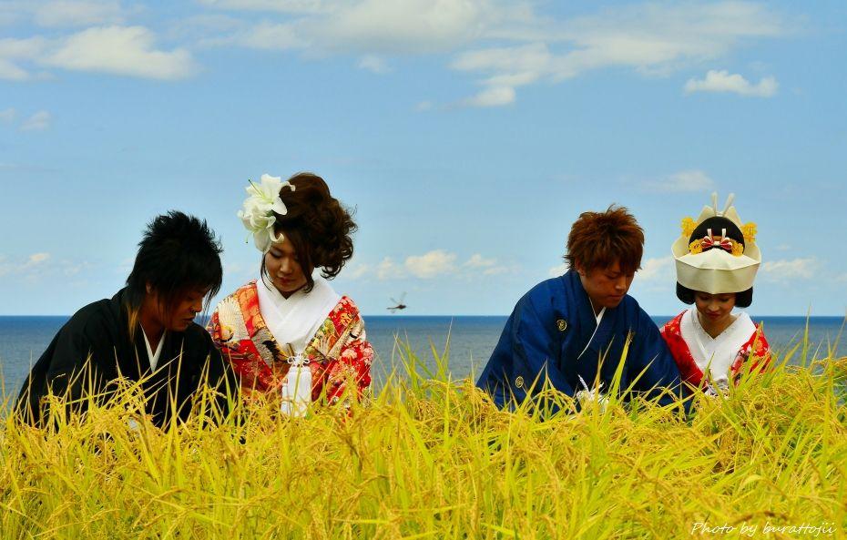 2014.09.21千枚田結婚式9