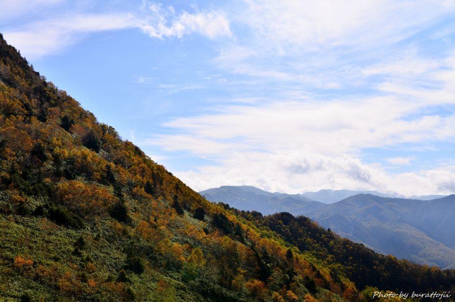 2014.10.9笠ヶ岳への風景7