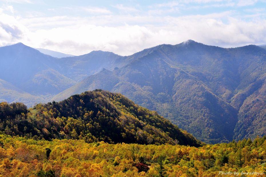 2014.10.9笠ヶ岳への風景6