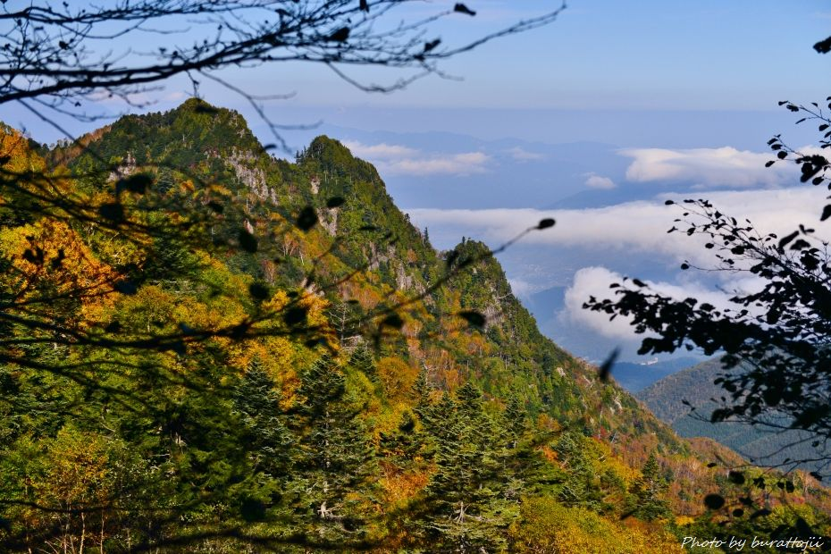 2014.10.9笠ヶ岳への風景3