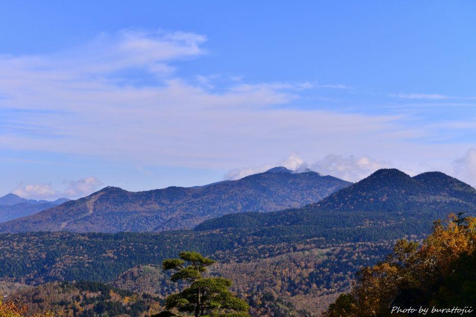 2014.10.9笠ヶ岳への風景4