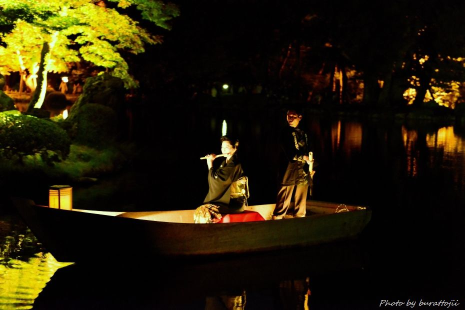 2014.10.11兼六園ライトアップ9