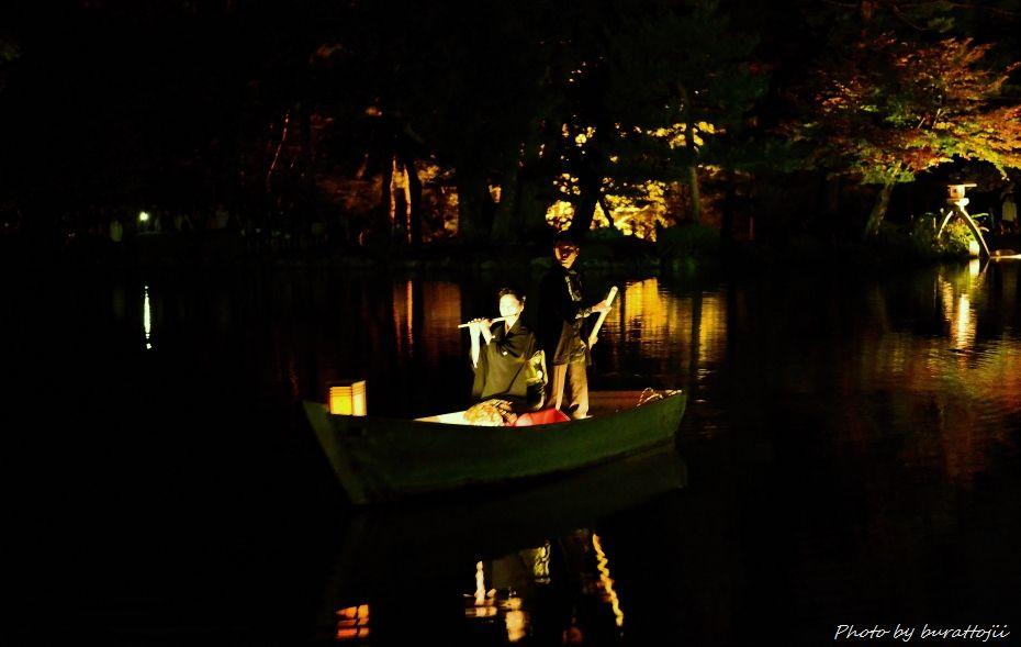 2014.10.11兼六園ライトアップ7