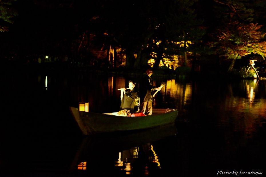 2014.10.11兼六園ライトアップ8