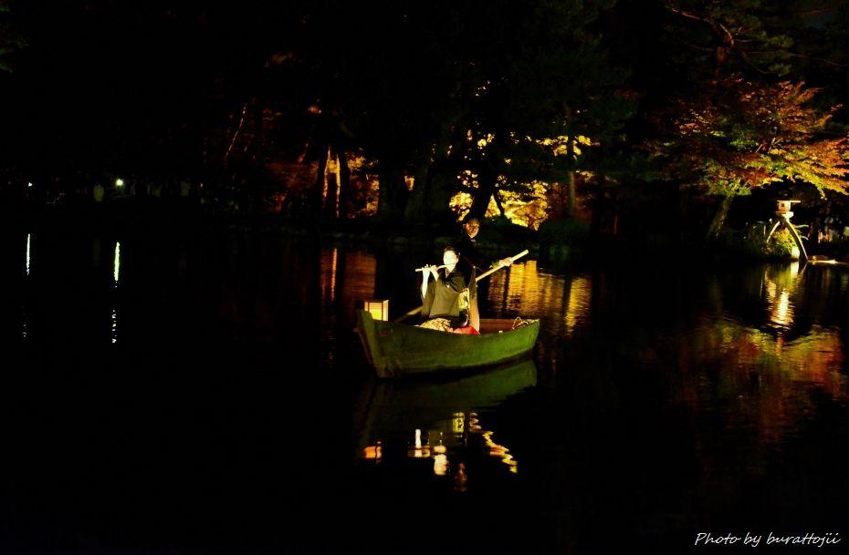 2014.10.11兼六園ライトアップ4