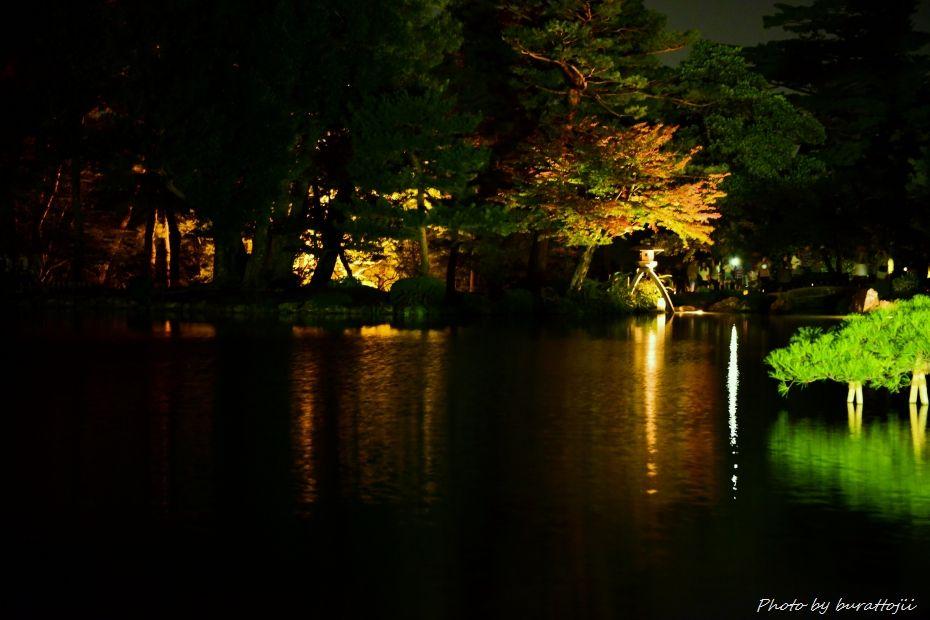 2014.10.11兼六園ライトアップ1