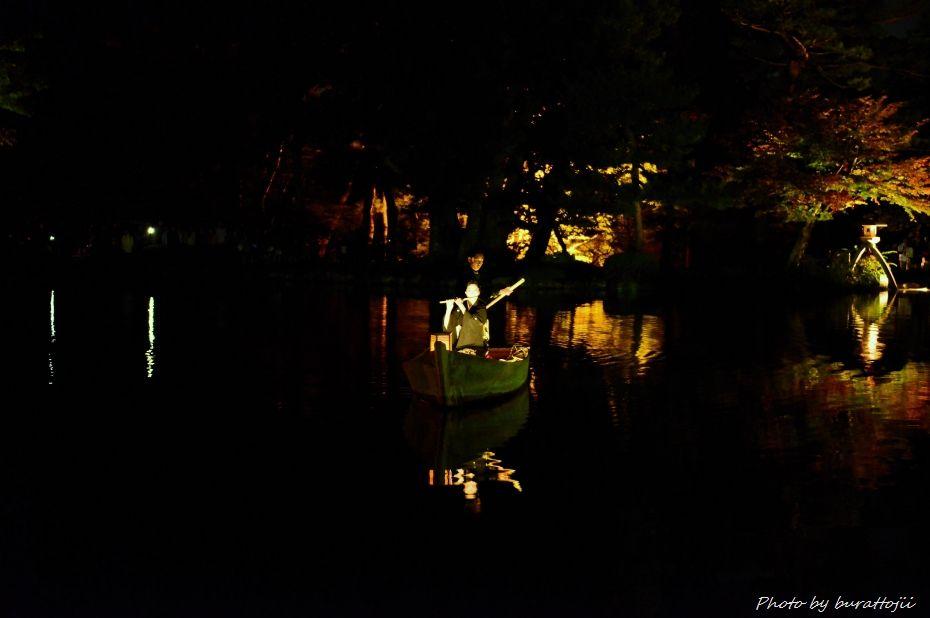 2014.10.11兼六園ライトアップ3