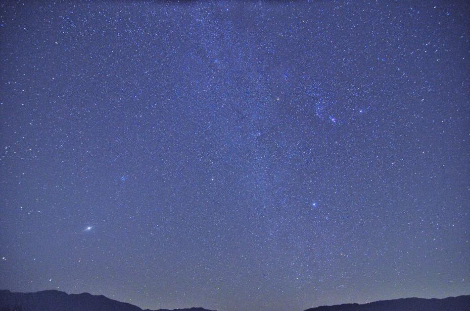 2014.10.25西山の星景2