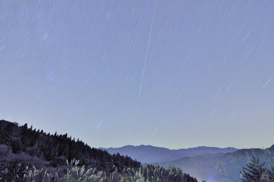 2014.10.24西山の星景1
