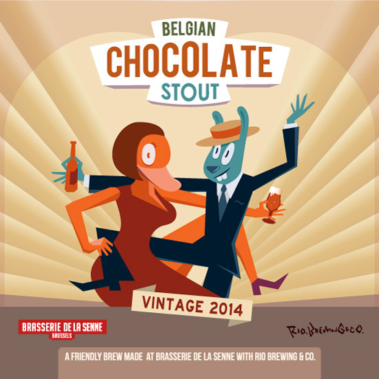 ベルギーチョコレートスタウト2014