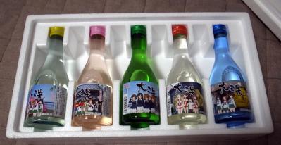 飲み比べ日本酒