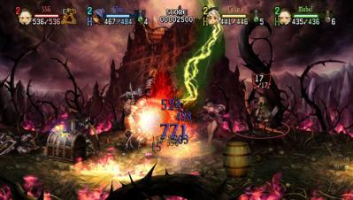 ゲーム中の画面