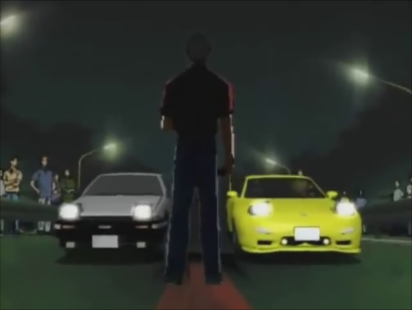 Initial D First Stage 4