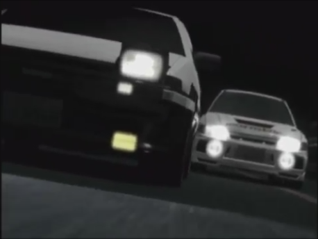 Initial D Second Stage Act 3 The Feeling of Defeat