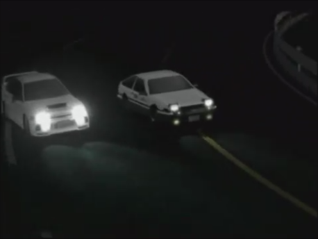 Initial D Second Stage Act 4 Hollow Victory