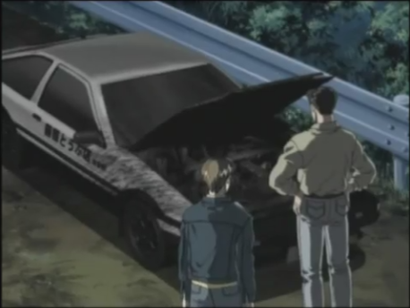 Initial D Second Stage Act 6 Goodbye Eight-Six
