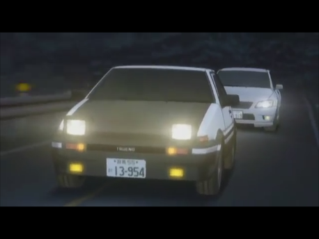 Initial D Fourth  Stage ACT 9  「恭子の告白」