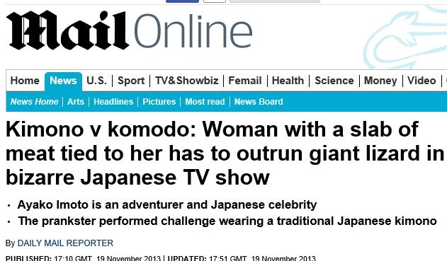 Kimono v komodo