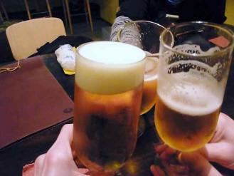 13-4-10 ビア乾杯