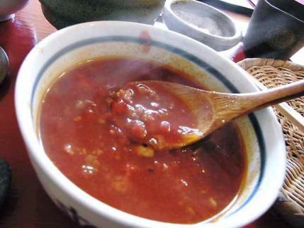 13-4-22 トマト汁にかけ汁いれ