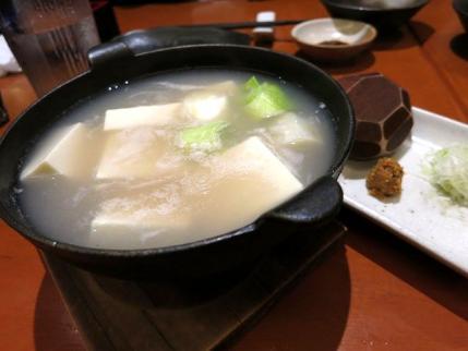 13-5-17 蕎麦湯豆腐
