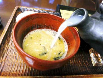 13-6-5 蕎麦湯