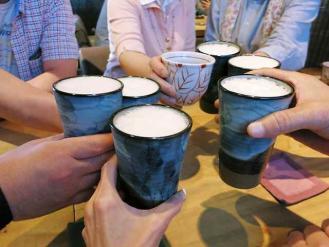 13--7-2 乾杯ビア
