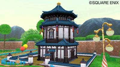 和風のスモールタワー