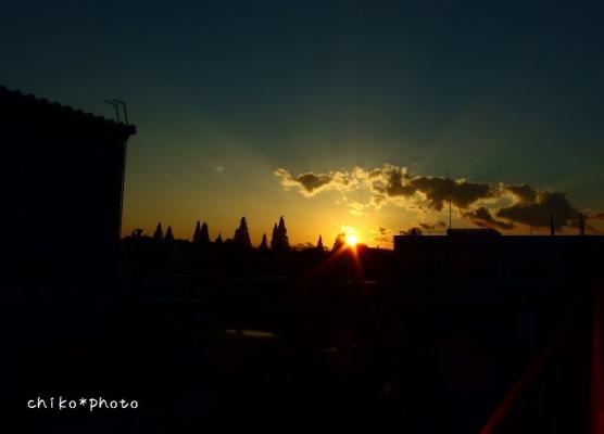 photo-370 夕暮れ時 西の空_20131117