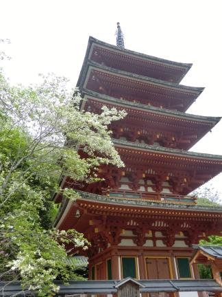 29長谷寺の五重塔