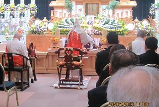 法華宗の葬式