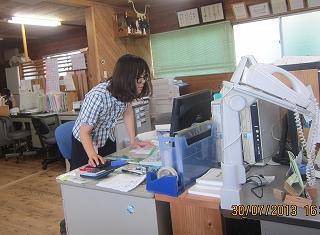 あゆみさんの職場
