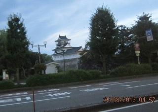 冨山城の櫓
