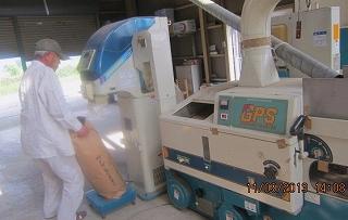 籾摺り機械