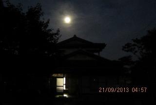 16夜の残月
