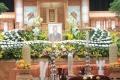 故福納庄一さんの葬儀