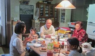 子供が居る食卓